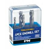 ENDMILL SET 4PCE P&N WORKSHOP
